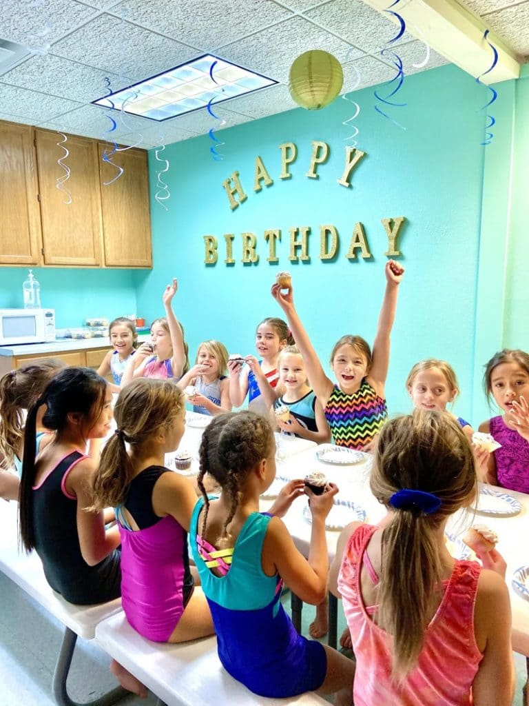 8 Gymnastics Birthday Party Ideas